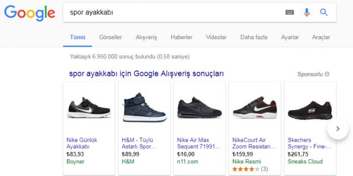 Google Alışveriş Reklamları Kaldırıldı